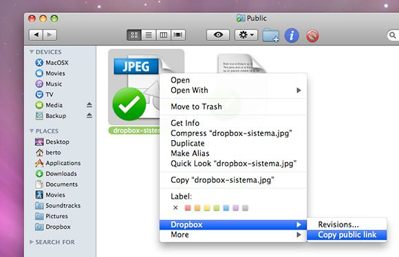 Dropbox Compartir