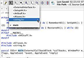 Editor Textwrangler