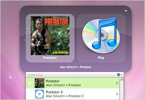 iTunes Controllers Quicksilver