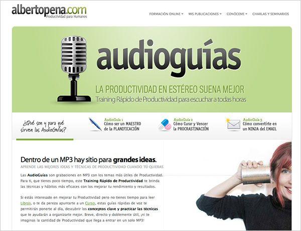 AudioGuias temáticas de Productividad Personal