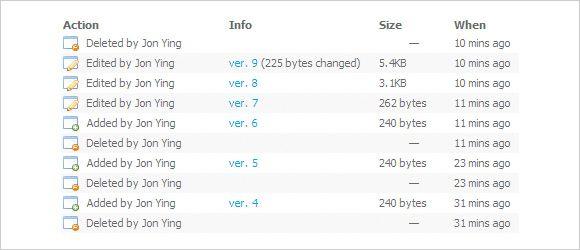 Dropbox Revisiones