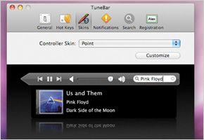 itunes Controllers TuneBar