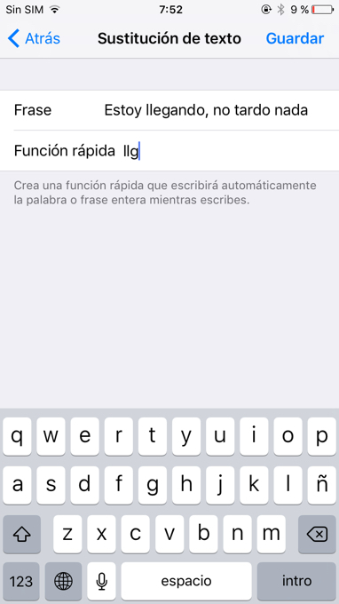 captura iphone